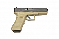 Пистолет WE Glock 18C Gen.4 TAN GGBB (DC-GP617B (TAN) [1]